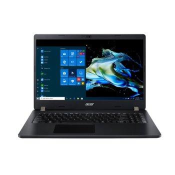 "Лаптоп Acer Travelmate P215-52-57D2 (NX.VLLEX.002), четириядрен Comet Lake Intel Core i5-10210U 1.6/4.2 GHz, 15.6"" (39.62 cm) Full HD Anti-Glare Display, (HDMI), 8GB DDR4, 512GB SSD, 1x USB 3.1 Type-C, Linux image"