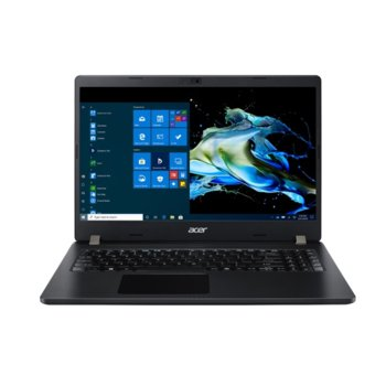 "Лаптоп Acer Travelmate P215-52-57D2 (NX.VLLEX.002), четириядрен Comet Lake Intel Core i5-10210U 1.6/4.2 GHz, 15.6"" (39.62 cm) Full HD Anti-Glare Display, (HDMI), 8GB DDR4, 512GB SSD, 1x USB 3.1 Type-C, Linux image"