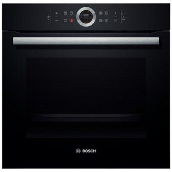 Фурна за вграждане Bosch HBG 675 BB1, клас А+, 71 л. обем, дисплей, сензорно управление, 10 програми, черна image