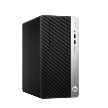 Настолен компютър HP ProDesk 400 G6 MT (7EM16EA), осемядрен Coffee Lake Intel Core i7-9700 3.0/4.7 GHz, 16GB DDR4, 512GB SSD, 4x USB 3.1, клавиатура и мишка, Windows 10 Pro  image