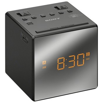 Радио портативно Sony ICF-C1T, 230 V AC, CR2032, черен image