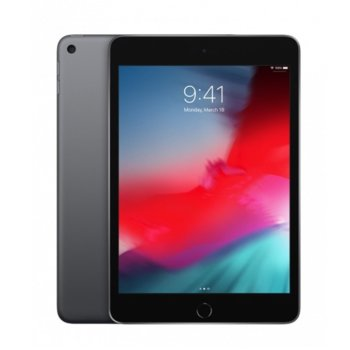 "Таблет Apple iPad Mini 5 (MUQW2HC/A)(сив), 7.9"" (20.07 cm), осемядрен Apple A12 Bionic, 3GB RAM, 64GB Flash памет, 8.0 & 7.0 MPix камера, iOS, 300g image"