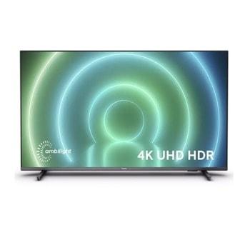 "Телевизор Philips 43PUS7906/12, 43"" (109.22 cm) 4K/UHD LED Smart TV, DVB-T/T2/T2-HD/C/S/S2, LAN, Wi-Fi, Bluetooth, 4x HDMI, 2x USB image"