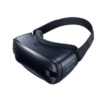 Очила за виртуална реалност Samsung Gear VR SM-323, 96° зрителен ъгъл, Super AMOLED дисплей, страничен тъчпад, съвместими със Samsung Galaxy смартфони, черни image