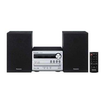 Аудио система Panasonic SC-PM250EC-S, 2.1 RMS(10W + 10W), USB, Bluetooth, CD, MP3, сребриста image