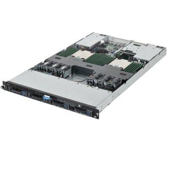 "Barebone Сървър Quanta QuantaGrid D51B-1U, 24x DDR4, 4x 3.5"" HDD/2x 2.5"" SSD, 1U Rack, поддържа Intel® Xeon® E5-2600 v3 image"