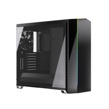 Кутия Fractal Design Vector RS Tempered Glass, EATX (up to 285 mm wide)/ATX/mATX/ITX, USB 3.1 Gen 2 Type-C, черна image