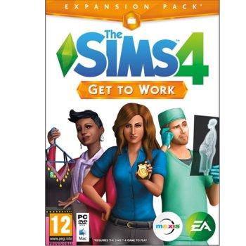 Игра The Sims 4 Get To Work, ескапнжън, за PC image
