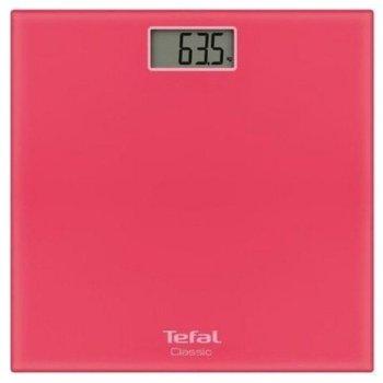 Цифров кантар Tefal Classic PP1134VO, капацитет до 160 кг., закалено стъкло, корал image