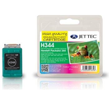 Глава за HP DJ 5740/5940, Photosmart 2575, PSC1610 - Color - C9363EE, HP344 - Неоригинална - Jet Tec - Заб.: 21 ml image
