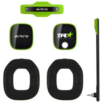 Аксесоари за слушалки Astro A40 TR Mod Kit (939-001544), включва звукоизолиращ микрофон / подплатена лента за глава / шумоизолиращи възглавици / силиконови прегради, зелени image
