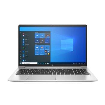 "Лаптоп HP ProBook 450 G8 (1A894AV_33297166)(сребрист), четириядрен Tiger Lake Intel Core i5-1135G7 4.2 GHz, 15.6"" (39.62 cm) Full HD IPS Anti-Glare Display, (HDMI), 8GB DDR4, 256GB SSD, 1x USB 3.1 Type-C, Windows 10 Pro image"