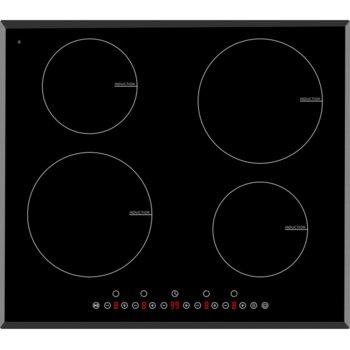Индукционен плот за вграждане Arielli ACH-704IND, 4 нагревателни зони, индикатор за остатъчна топлина, сензорно управление, черен image