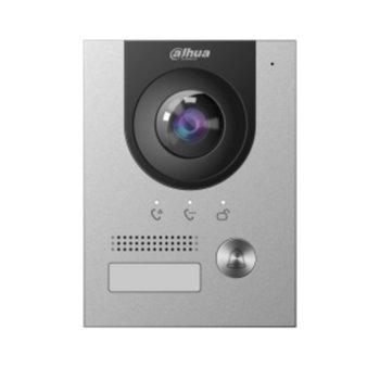 """Видеодомофон Dahua VTO2202F-P, ICR 1/2.8"""" CMOS camera с вградена IR подсветка, H.264/G.711, 1x 10/100 Ethernet port, POE 802.3af, IP65/IK07 image"""