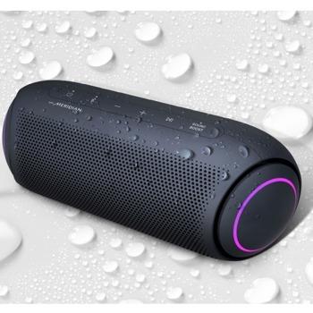 Тонколона LG XBOOM Go PL5, 2.0, 20W RMS, безжична, Bluetooth, до 18 часа възпроизвеждане, водоустойчива, AUX, USB Type C, черна image