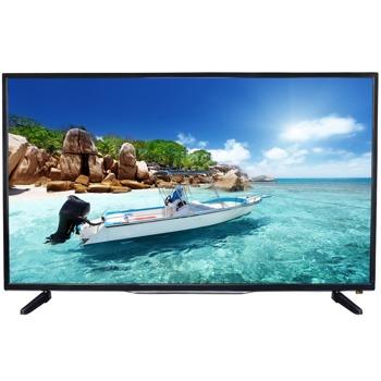 "Телевизор Crown 50D16AWS, 50"" (127 cm), Full HD LED Smart TV, DVB-T2/C, Wi-Fi, 3x HDMI, 2x USB image"