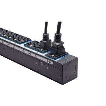 Разклонител Eaton EBAB22, 20x IEC-320-C13, 4x IEC-320-C19, 3м, черен image
