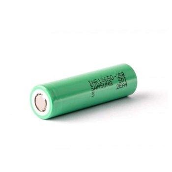 Акумулаторна батерия Samsung INR18650 25R, 18650, 3.7V, 2500mAh, Li-Ion, 1 брой image