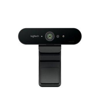 Уеб камера Logitech BRIO, микрофони, 4K Ultra HD, HDR, Autofocus, USB image