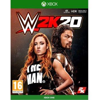 Игра за конзола WWE 2K20, за Xbox One image