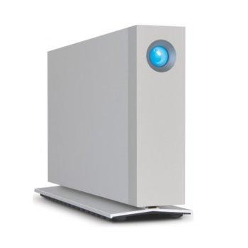 Твърд диск 4TB, LaCie d2 STEX4000200, външен, Thunderbolt 2, USB 3.0, сребрист image