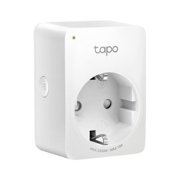Смарт контакт TP-Link Tapo P100, Wi-Fi, Bluetooth 4.2, Android/iOS, бял image