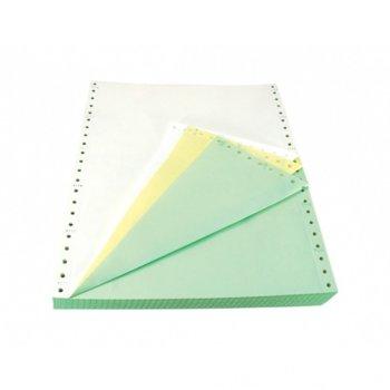 Безконечна принтерна хартия M & BM, 380/304.8 mm, 2 пласта, 1000л., бяла image