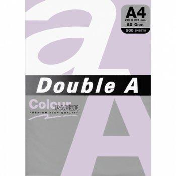 Хартия Double A 32391, A4, 80 g/m2, 500 листа, лилава image