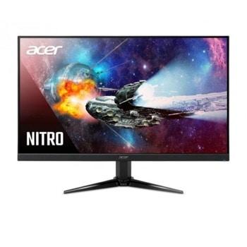 """Монитор Acer Nitro QG271bii (UM.HQ1EE.001), 27"""" (68.58 cm) VA панел, Full HD, 1ms, 100 000 000:1, 300 cd/m2, HDMI, VGA image"""