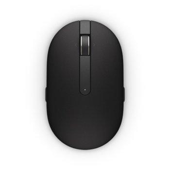 Мишка Dell WM326, лазерна, 1600 dpi, безжична, черна  image