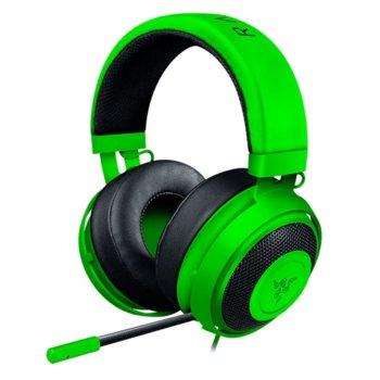 Слушалки Razer Kraken Pro V2, микрофон, зелени  product