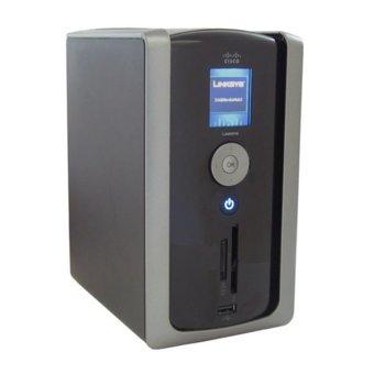 Мрежови диск (NAS) Linksys NMH305 Media Hub Home Entertainment Storage, 500GB HDD, 1x Lan1000, 2x USB 2.0 image