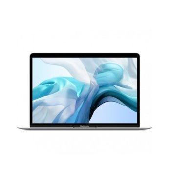 "Лаптоп Apple MacBook Air 13 (2020)(MWTK2ZE/A)(сребрист), двуядрен Ice Lake Intel Core i3-1000NG4 1.1/3.2 GHz, 13.3"" (33.78 cm) Retina IPS LED-backlit Display, (Thunderbolt), 8GB, 256GB SSD, Mac OS Catalina image"