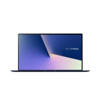 "Лаптоп Asus ZenBook 15 UX534FTC-WB701R (90NB0NK3-M05050), четириядрен Comet Lake Intel Core i7-10510U 1.8/4.9 GHz, 15.6"" (39.62 cm) Full HD Anti-Glare Display GF GTX 1650 4GB, (HDMI), 16GB, 512GB SSD, 1x USB 3.1 Type-C, Windows 10  image"