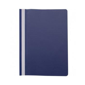 Папка от PVC, за документи с формат до А4, без перфорация, синя image