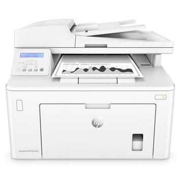 Мултифункционално лазерно устройство HP LaserJet Pro MFP M227sdn, монохромен принтер/копир/скенер, 1200 x 1200 dpi, 28 стр/мин, LAN, USB 2.0, A4, двустранен печат image