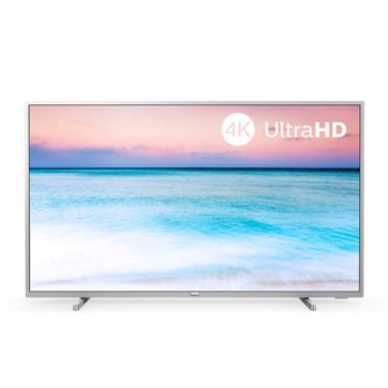 "Телевизор Philips 65PUS6554/12, 65"" (165.1 cm) LED Smart TV, 4K/Ultra HD, DVB-T2/C/S2, Wi-Fi, LAN, HDMI, 2x USB image"