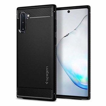 Калъф за Samsung Galaxy Note 10, силиконов, Spigen Rugged Armor Case, черен image