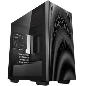 Кутия DeepCool MATREXX 40, Micro ATX/Mini-ITX, 1x USB 3.0, прозорец, черна, без захранване image