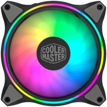 Вентилатор Cooler Master MasterFan MF120 Halo ARGB (MFL-B2DN-18NPA-R1), 4-pin, 1800 RPM, RGB подсветка image