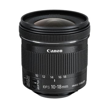 Обектив Canon EF-S 10-18mm f/4.5-5.6 IS STM image