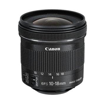 Обектив Canon EF-S 10-18mm f/4.5-5.6 IS STM image