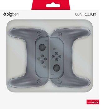 Ръкохватки BigBen Control Kit, за Nintendo Switch image