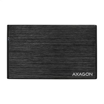 "Кутия 2.5"" (6.35 cm) Axagon EE25-XA3, за SSD/HDD, SATA III, USB, черна image"