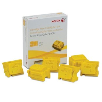 Мастило за Xerox ColorQube 8900 - Yellow - P№ 108R01024 - 6 Sticks - 16 900k image