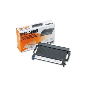 ТТ ЛЕНТА ЗА BROTHER PC-301 Ribbon Cartridge for FAX-910/917/920/930/940 series - P№PC301 image