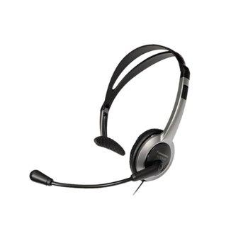 Слушалка Panasonic RP-TCA430, 2.5мм жак, микрофон, тип хендсфри, сиви image
