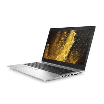"Лаптоп HP EliteBook 850 G6 (6XD81EA)(сребрист), четириядрен Whiskey Lake Intel Core i7-8565U 1.8/4.6 GHz, 15.6"" (39.62 cm) Full HD Anti Glare Display, (HDMI), 8GB DDR4, 256GB SSD, 1x Thunderbolt, Windows 10 Pro, 1.78 kg  image"