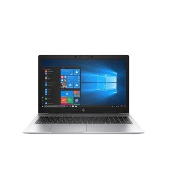 "Лаптоп HP EliteBook 850 G6 (6XE73EA)(сребрист), четириядрен Whiskey Lake Intel Core i7-8565U 1.8/4.6 GHz, 15.6"" (39.62 cm) Full HD Anti-Glare Display & Radeon 550X 2GB, (HDMI), 16GB DDR4, 512GB SSD, 1x Thunderbolt, Windows 10 Pro image"