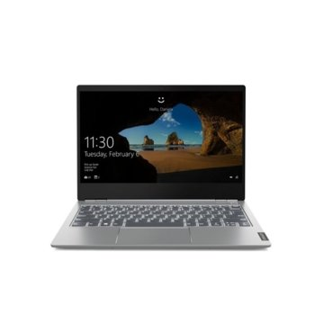 "Лаптоп Lenovo ThinkBook 13s-IML (20RR003GBM)(сив), четириядрен Comet Lake Intel Core i5-10210U 1.6/4.2 GHz, 13.3"" (33.78 cm) Full HD IPS Anti-Glare Display, (HDMI), 8GB DDR4, 256GB SSD, 1x USB 3.1 Type-C, Windows 10 Pro image"
